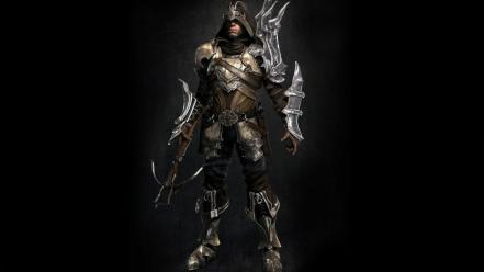 Demon hunter concept artwork diablo iii fan wallpaper