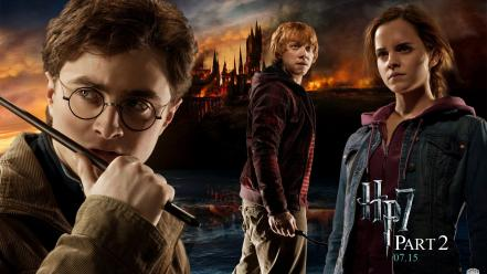 Harry Potter Deathly Hallows Part Ii wallpaper
