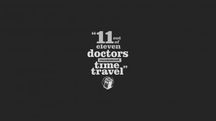 Tardis typography time travel doctors doctor who wallpaper