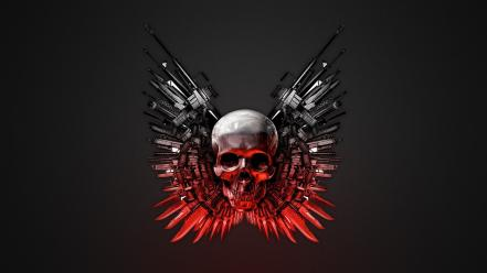 The Expendables Weapons Hd Wallpaper
