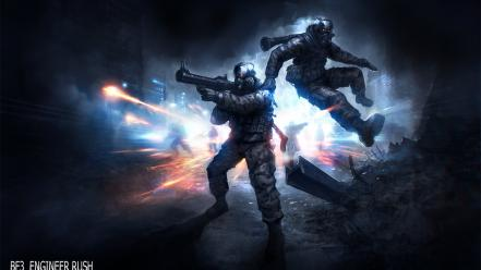Video games battlefield 3 fan art wallpaper