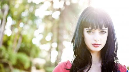 Women krysten ritter wallpaper