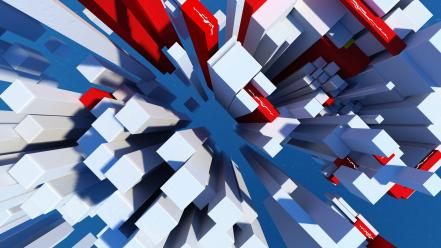 Abstract video games mirrors edge wallpaper