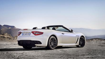 Cars maserati grancabrio mc wallpaper