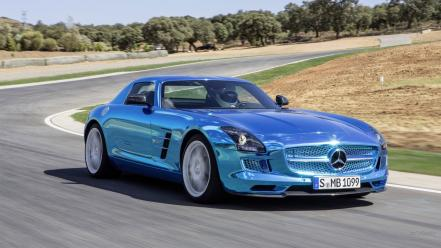 Electric coupe 2014 sls amg mb mercedes wallpaper