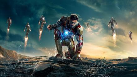 Iron man robert downey jr 3 wallpaper