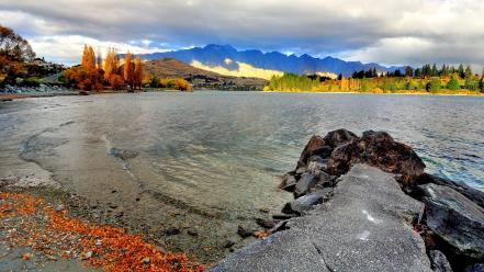 Landscapes nature new zealand wallpaper