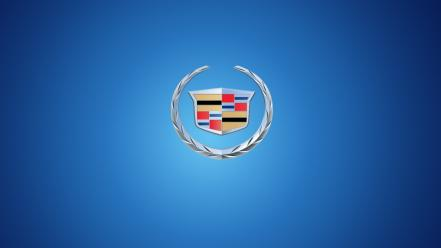 Minimalistic cars artwork cadillac logos wallpaper