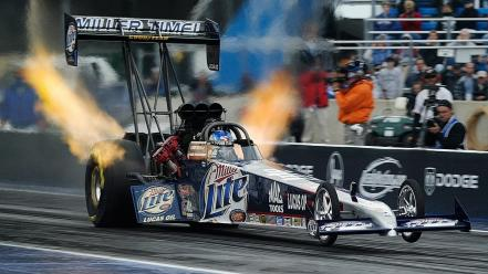 Nhra miller lite dragster top fuel Wallpaper