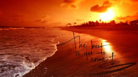 Saying effects effect sayings sundown beachscape beach wallpaper