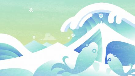 Video games ocean waves sea wallpaper