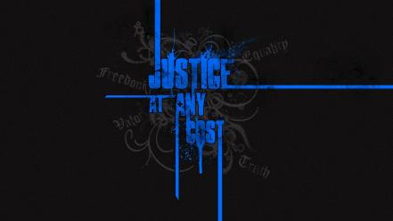 Blue quotes justice digital art sentence sayings wallpaper