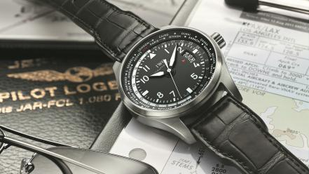 Clocks iwc watch hi-tech pilots wallpaper