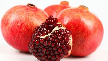 Fruits pomegranate colors strong fresh vitamins wallpaper