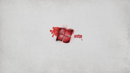 Minimalistic dexter tv series windows wallpaper