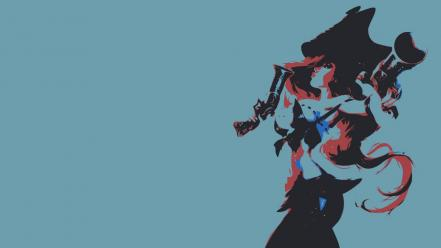 Video games minimalistic league of legends miss fortune wallpaper