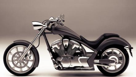 White honda engines chrome motorbikes vtx1300 bikers wallpaper