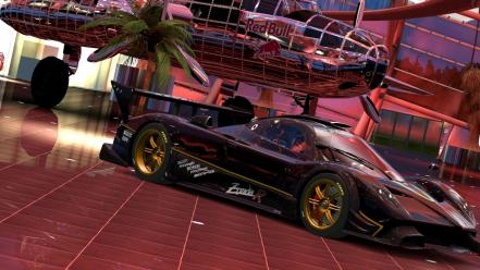 Cars pagani zonda r gran turismo 5 game Wallpaper