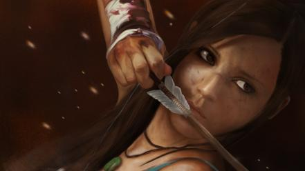 Lara croft artwork drawings tomb raider reborn Wallpaper