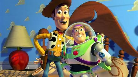 Movies film toy story buzz lightyear woody Wallpaper