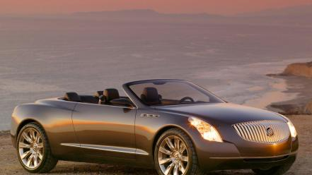 Sunset cars buick automobile wallpaper