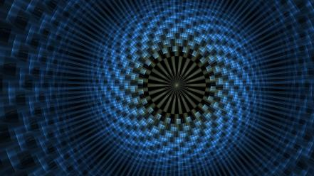 3d art abstract backgrounds blue digital Wallpaper