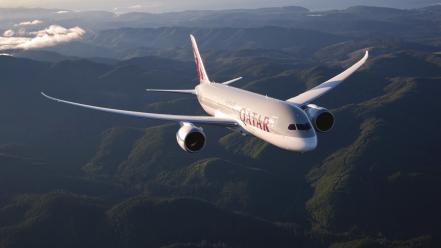 Boeing aviation 787 dreamliner qatar airways wallpaper