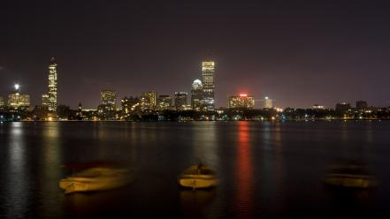 Boston night pictures wallpaper