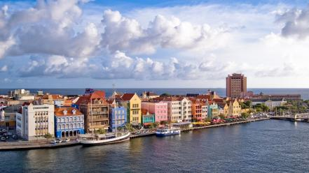 Cityscapes curacao wallpaper