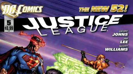 Dc comics justice league Wallpaper