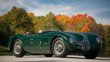 Jaguar c-type cars wallpaper