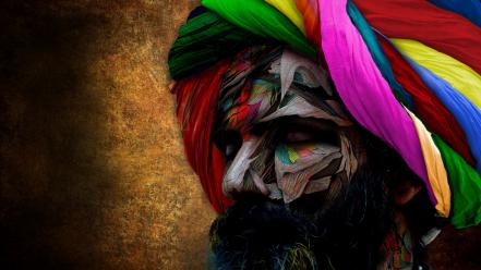 Smashing magazine beard colors men multicolor wallpaper