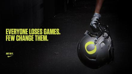 American football just do it nfl oregon Wallpaper