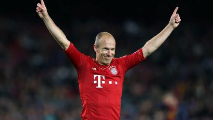 Arjen robben football stars soccer wallpaper