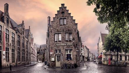 Belgium cities cityscapes travel wallpaper