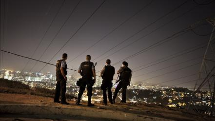 Brazil brazilian favela law low light wallpaper