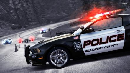 Police car in games Wallpaper