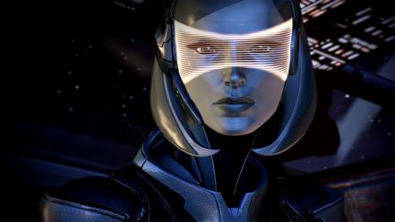 Video games mass effect 3 edi wallpaper
