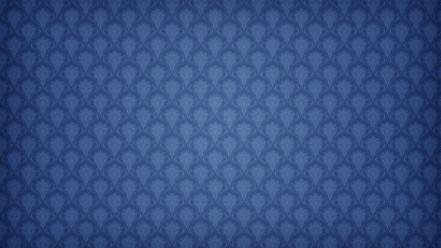 Blue pattern background wallpaper