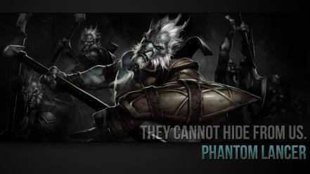 Phantom lancer dota 2 Wallpaper