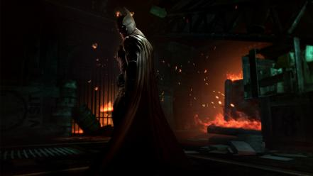 The dark knight bruce wayne arkham origins Wallpaper