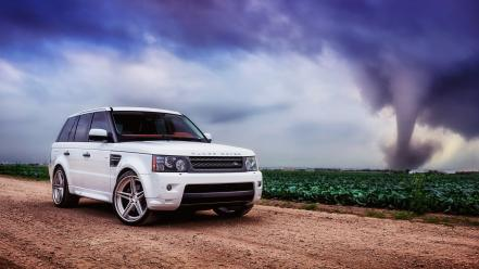 Land rover luxury sport car range cars wallpaper