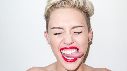 Miley cyrus terry richardson photo shoot simple background wallpaper