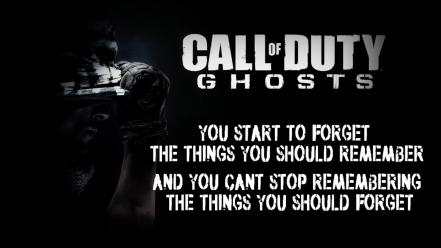 Text call of duty duty: ghosts wallpaper