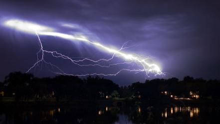 Weather lightning Wallpaper