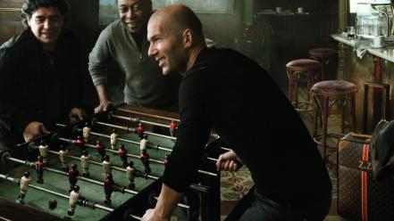 Zidane diego maradona pelé foosball football player Wallpaper