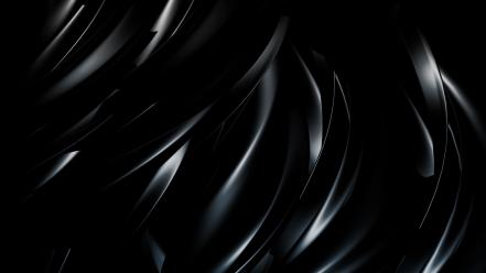 3d abstract black wallpaper