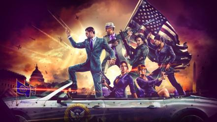 Saints row iv desu video games Wallpaper