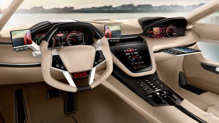 Cars supercars car interiors italdesign brivido martini Wallpaper