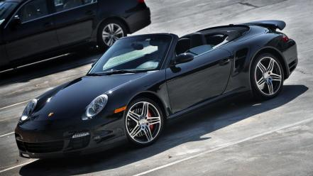 Germany turbo coupe porsche 911 997 brand cabriolet Wallpaper